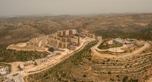 Luftbild von Rawabi, April 2015