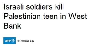 Israelische Soldaten töten palästinensischen Teenager im Westjordanland