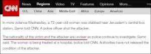 Nationalität von Opfer und Angreifer sind unklar ...