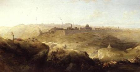 RobertsHaghe_Pilgrimage_to_Jerusalem