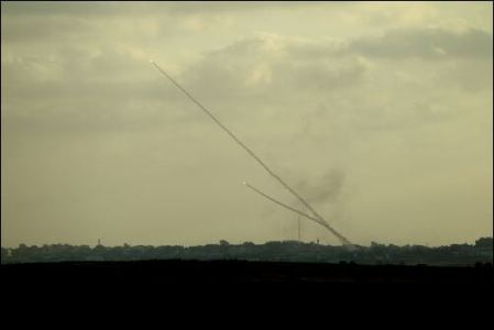 Palestinian-rockets
